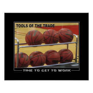 #141 (Matte) Basketball Poster