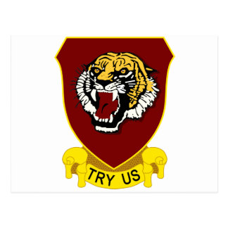 141st Field Artillery Regiment Postcard