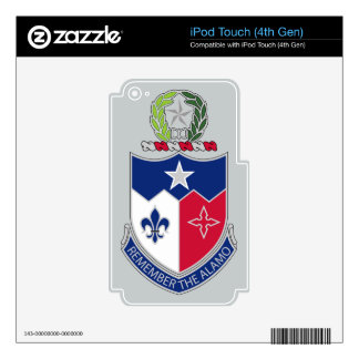 141st Infantry Regiment - Remember The Alamo Skin For iPod Touch 4G