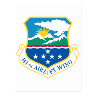 141th Airlift Wing Postcard