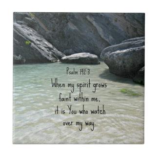 142:3 del salmo en que mi alcohol crece débil…. tejas  cerámicas