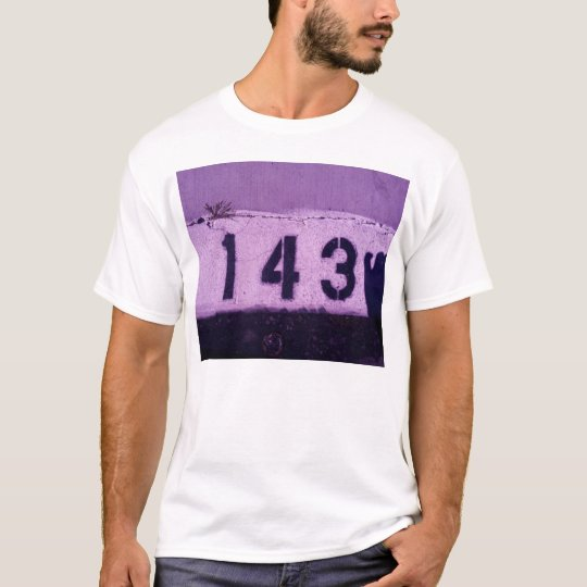 143 = I love You T-Shirt
