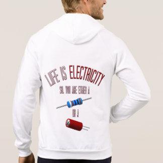 [143] Resistors or Capacitors… Hoodie