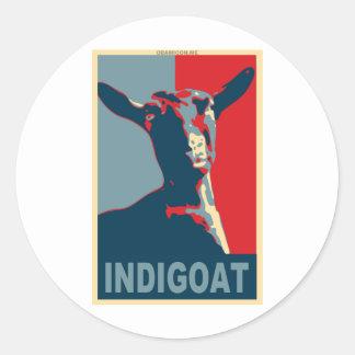 1448603-indigoat classic round sticker