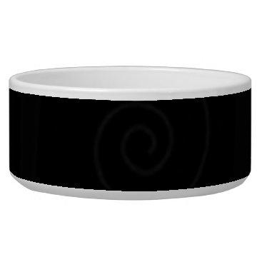 Professional Business 144 BLACK SWIRLS SQUARES DARK PATTERN DIGITAL WALL BOWL