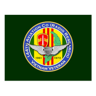 144o Avn Co RR 3b - ASA Vietnam Postales