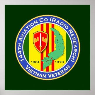 144th Avn Co RR 1b - ASA Vietnam Poster