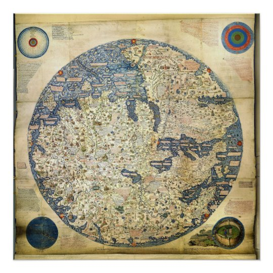 1450 World Map by Venetian Monk Fra Mauro Poster on 1600s map of world, abstract map of world, ireland map of world, 1990s map of world, germany map of world, 6th century map of world, modern map of world, england map of world, 15th century sailors, ancient map of world, 15th century artists, 1900s map of world, spain map of world, europe map of world, religion map of world, 15th century medieval england maps, roman map of world, 15th century school, 15th century foods, silver map of world,