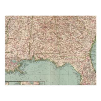 14546 arca, Tenn, La, Srta., Fla, Ala, GA, SC Tarjeta Postal