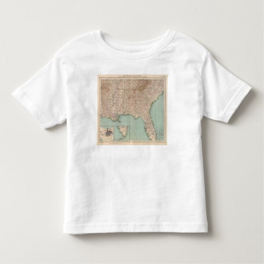 14546 Ark, Tenn, La, Miss, Fla, Ala, Ga, SC Toddler T-shirt
