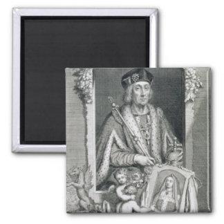 1457-1509) reyes de Henry VII (de Inglaterra a par Imán Cuadrado