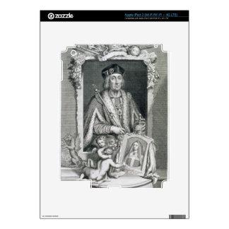 1457-1509) reyes de Henry VII (de Inglaterra a par iPad 3 Skins