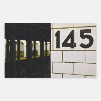 145th St. Station Sticker
