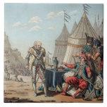 1464-1534) refus de Felipe Villiers de L'Isle-Adán Teja Cerámica