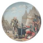 1464-1534) refus de Felipe Villiers de L'Isle-Adán Plato Para Fiesta