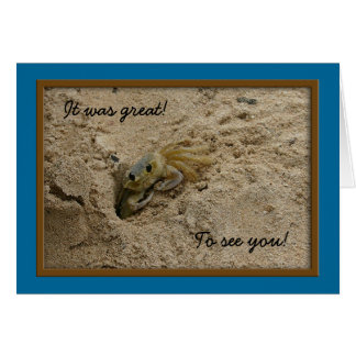 146_4696, It was great!, To see you! Greeting Card