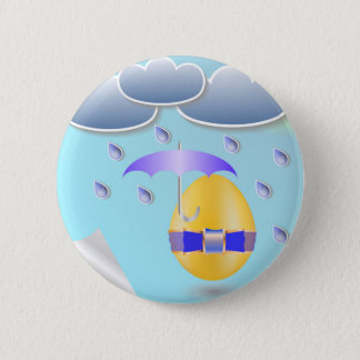 146Easter Egg_rasterized Pinback Button