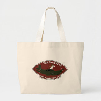 146th Aviation - The Snoopers Large Tote Bag