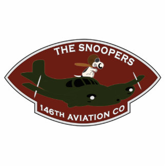 146th Aviation - The Snoopers Statuette