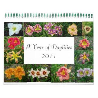 14720033, daylilies 048, Lumberton DA de Calendarios De Pared