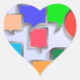 147Speech Bubbles_rasterized Heart Sticker