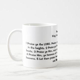 148:1 del salmo - 5 taza básica blanca