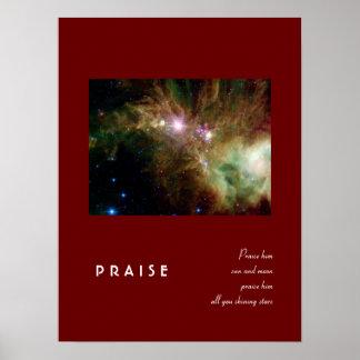 148:3 del salmo póster