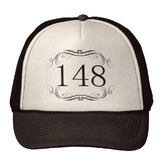 148 Area Code Trucker Hat