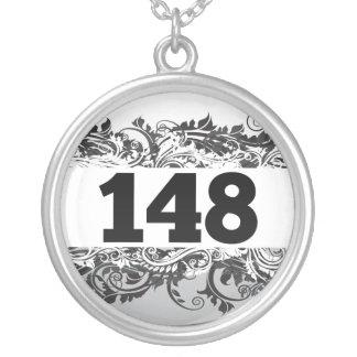 148 ROUND PENDANT NECKLACE