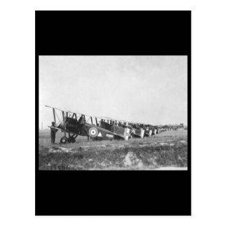 148th American Aero Squadron field_War image Postcard