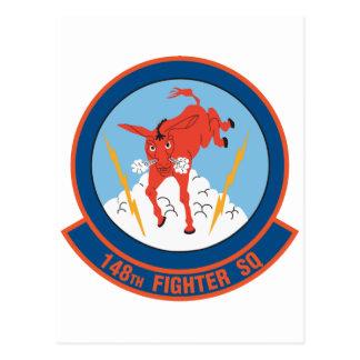 148th Fighter Squadron Postcard