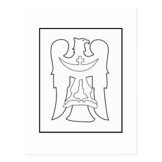 148th Infanterie Division Logo Postcard