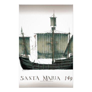 1492 Santa Maria by Tony Fernandes Stationery