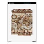 1499 Old World Map Device Skin iPad 2 Skins