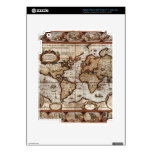 1499 Old World Map Device Skin Skins For iPad 3