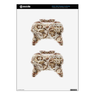 1499 World Map w The Americas device protector Xbox 360 Controller Skins