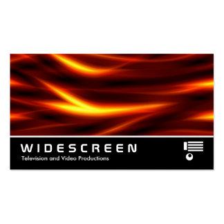 149 con pantalla grande - Serpientes ardientes Plantilla De Tarjeta De Negocio