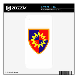 149th Armored Brigade Army Skin For iPhone 4S