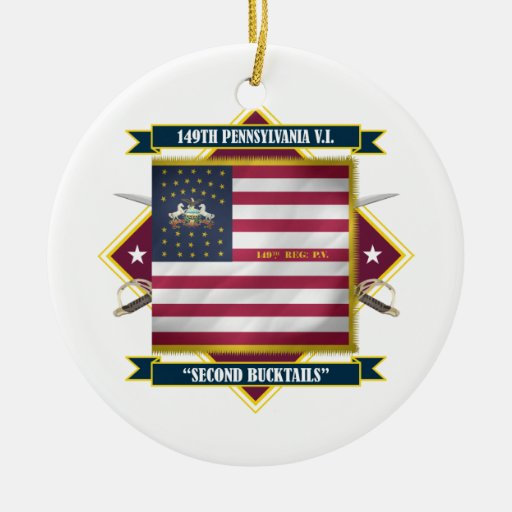 149th P.V.I. (Diamond) Christmas Tree Ornament