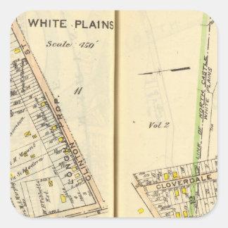 14-15 White Plains Square Sticker