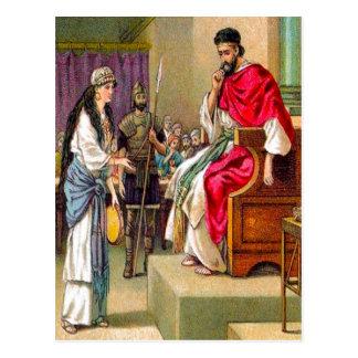 14:1 de Matthew - 12 la muerte de Juan la posición Postales