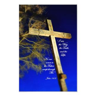 14:6 de Juan soy la manera, la verdad, y la vida Cojinete