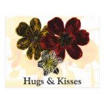 14 abrazos y besos postales