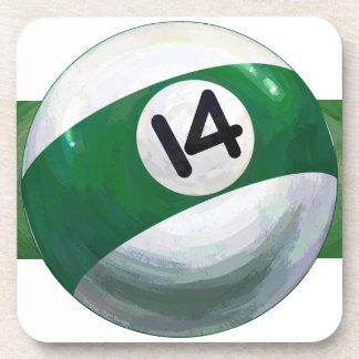 14 Ball Beverage Coaster