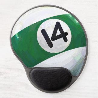14 Ball Gel Mouse Mat