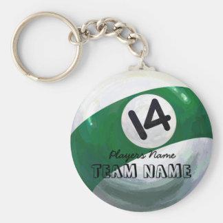 14 Ball Keychain