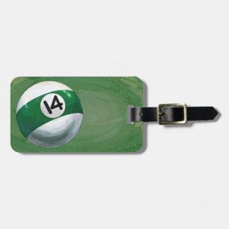 14 Ball Luggage Tag