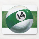 14 Ball Mouse Pad