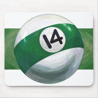 14 Ball Mouse Pad
