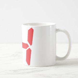 14 catorce números digitales del despertador del taza
